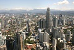 De stadshorizon van Kuala Lumpur Royalty-vrije Stock Afbeelding