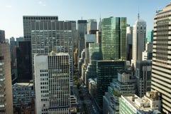 De Stadshorizon van New York Stock Afbeelding