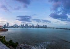 De Stadshorizon van Panama - de Stad van Panama, Panama Stock Fotografie