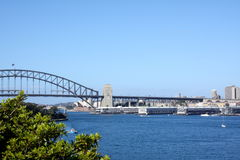 De stadshorizon van Sydney Stock Foto