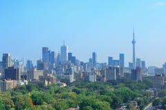 De stadshorizon van Toronto Stock Foto