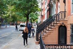 De Stadshuizen in de stad van New York Royalty-vrije Stock Afbeelding