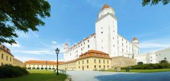 De stadskasteel van Bratislava Royalty-vrije Stock Foto