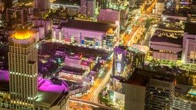 De stadslandschap Bangkok Thailand van Bangkok stock foto