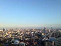 De stadslandschap van Bangkok Royalty-vrije Stock Afbeeldingen