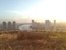 De stadslandschap van Bangkok Royalty-vrije Stock Foto