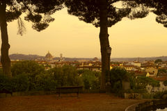 De stadslandschap van Florence Royalty-vrije Stock Foto