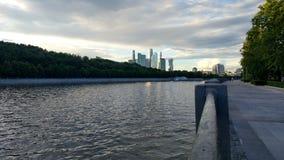 De stadslandschap van Moskou royalty-vrije stock afbeeldingen