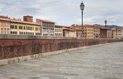 De stadslandschap van Pisa Stock Afbeeldingen