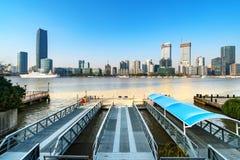 De stadslandschap van Shanghai Stock Afbeelding