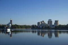 De stadslandschap van Yekaterinburg (Rusland) Royalty-vrije Stock Afbeelding
