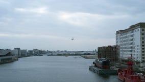 De Stadsluchthaven van Londen, Oost-Londen stock foto's