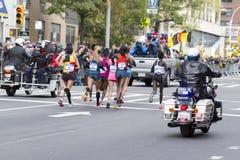 De Stadsmarathon 2014 van New York Stock Foto's