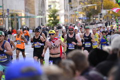 De Stadsmarathon 2016 van New York Royalty-vrije Stock Foto