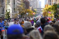 De Stadsmarathon 2016 van New York Stock Fotografie