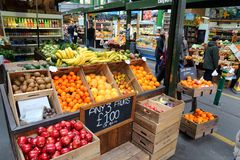 De Stadsmarkt van Londen Royalty-vrije Stock Foto