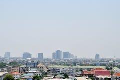 De stadsmening van Bangkok Royalty-vrije Stock Afbeelding