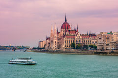 De stadsmening van Boedapest. Royalty-vrije Stock Afbeeldingen