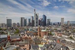 De stadsmening van Frankfurt Royalty-vrije Stock Afbeeldingen