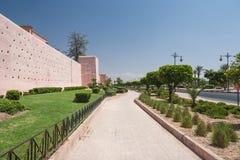 De stadsmening van Marrakech Stock Afbeelding