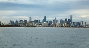 De Stadsmening van Melbourne Royalty-vrije Stock Afbeeldingen