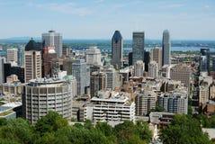 De stadsmening van Montreal Stock Fotografie