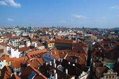 De stadsmening van Praag Royalty-vrije Stock Foto