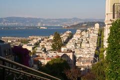 De stadsmening van San Francisco Stock Afbeeldingen