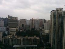 De stadsmening van Shanghai Stock Afbeelding