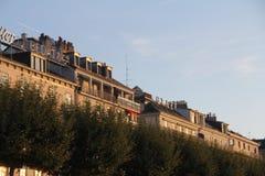 DE STADSmeningen VAN GENÈVE, ZWITSERLAND Royalty-vrije Stock Foto