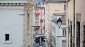 De stadsmeningen van Lyon Royalty-vrije Stock Afbeelding
