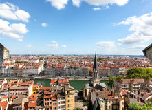 De stadsmeningen van Lyon Royalty-vrije Stock Foto's