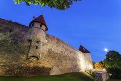 De Stadsmuren van Tallinn Royalty-vrije Stock Afbeelding