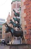 De stadsmusici van Bremen - I - Royalty-vrije Stock Afbeeldingen