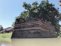 De stadsmuur van MAI van Chiang stock afbeelding