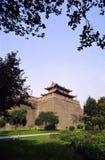 De stadsmuur van Xian Royalty-vrije Stock Fotografie