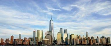 De stadspanorama van New York Royalty-vrije Stock Afbeelding