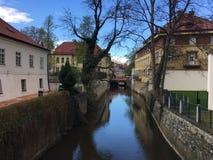 De stadspark van Praag stock afbeeldingen