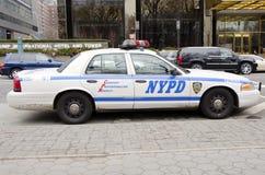 De Stadspolitiewagen van New York Stock Foto's