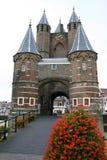 De stadspoort van Harleem Stock Foto