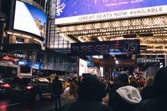 De stadsreis van New York Stock Afbeelding