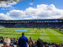 De Stadsstadion Matchday van Leicester Stock Foto's