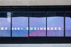De Stadsstraat Storefront van New York Royalty-vrije Stock Foto's