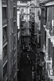 De Stadsstraat van Napels Stock Afbeeldingen