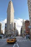 De stadsstraat van New York Stock Afbeeldingen