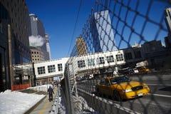 De stadsstraat van New York royalty-vrije stock foto