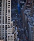 De stadsstraat van New York Royalty-vrije Stock Afbeelding