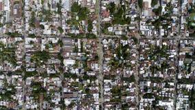 De stadsstraten stock foto