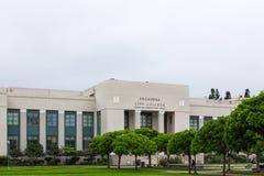 De Stadsuniversiteit van Pasadena Stock Afbeeldingen