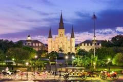 De Stadsvierkant van New Orleans Stock Afbeeldingen